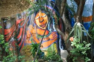 mural at Consorcio